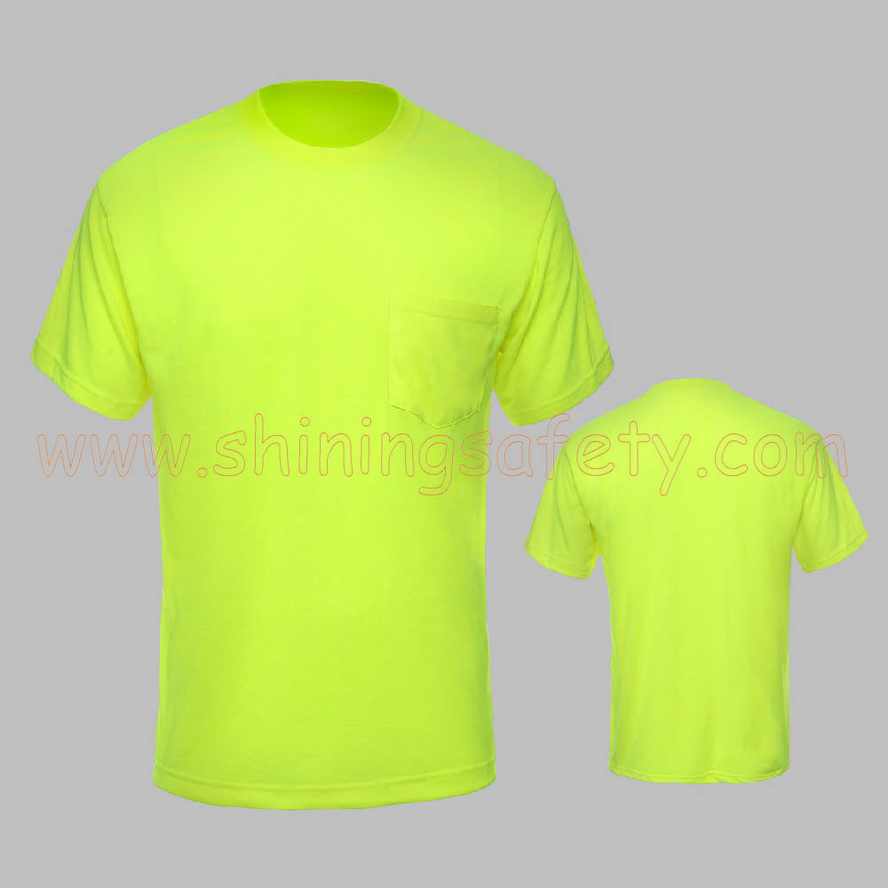 Canadian High Visibility Long Sleeve T Shirt