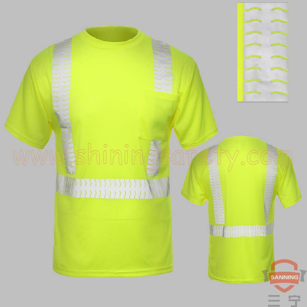 Ansi Class 2 Short Sleeve T Shirt With Segmented Tape